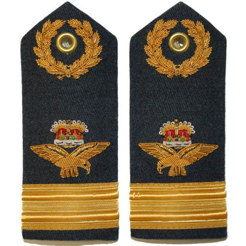 RAF Air Commodore 6A, 8, 11 Dress Shoulder Boards