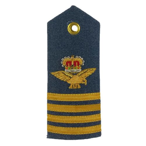 RAF Group Captain 6A, 8, 11 Dress Shoulder Boards