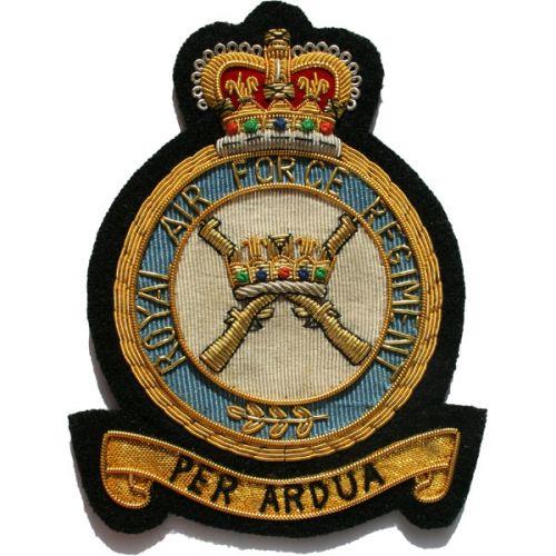RAF Regiment E11R Blazer Badge