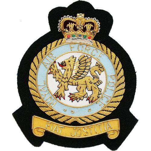 RAF Police Wire Blazer Badge