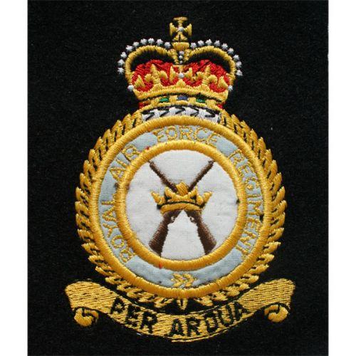 Royal Air Force Regiment Blazer Badge, Silk
