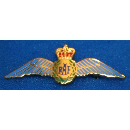 Royal Air Force Wings Ladies Brooch