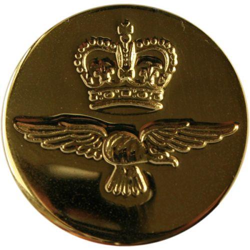 Royal Air Force Button, Blazer, Gilt (36L)