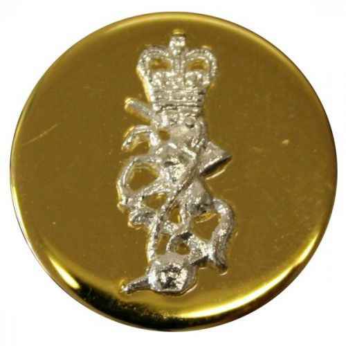 REME Button, Mounted, Gilt (24L)