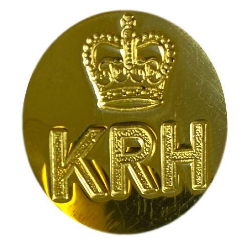 King's Royal Hussars Blazer Buttons (KRH) (25l)