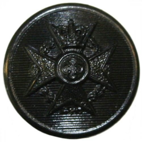 Royal Army Chaplains' Department Button, Black (22L)