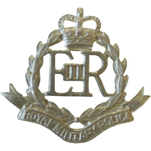 RMP Silver Collar Badges