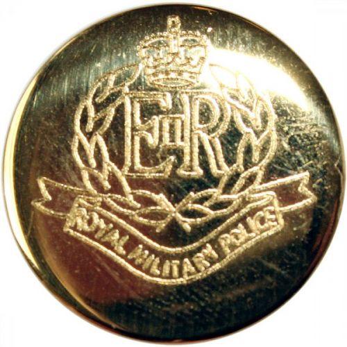 Royal Military Police Button, Blazer, Gilt (Large)