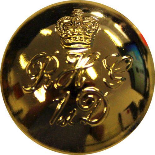 Blues & Royals Button, Gilt, Officers (40L)