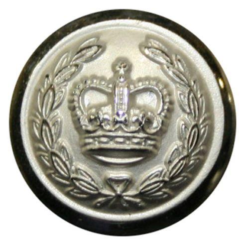 Deputy Lord Lieutenant Button, Screw Mounted (27L)