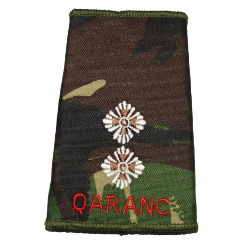 QARANC Rank Slides, CS95, (Lt)