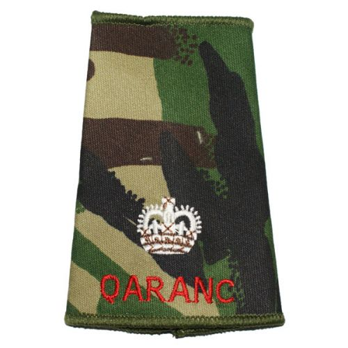 QARANC Rank Slides, CS95, (Maj)