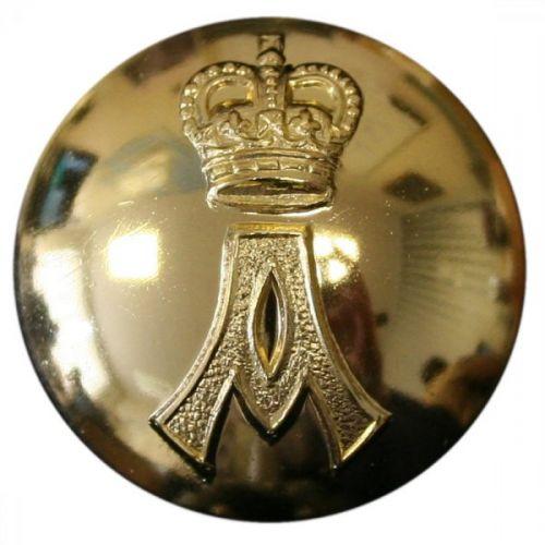 QARANC Button, Anodised (30L)