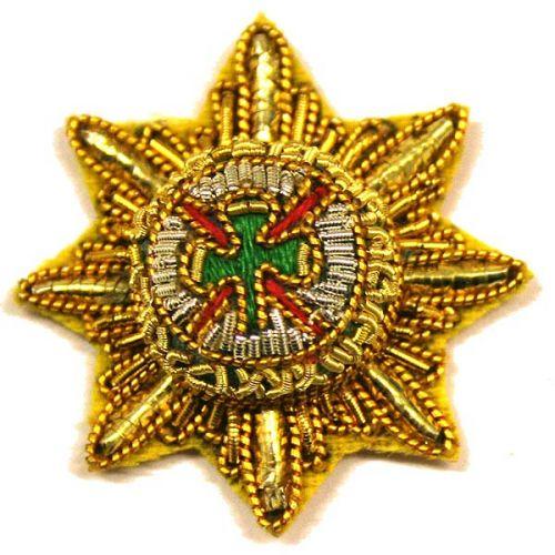 Irish Guards Officer Rank Star