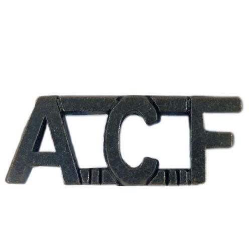 ACF Shoulder Titles Bronze