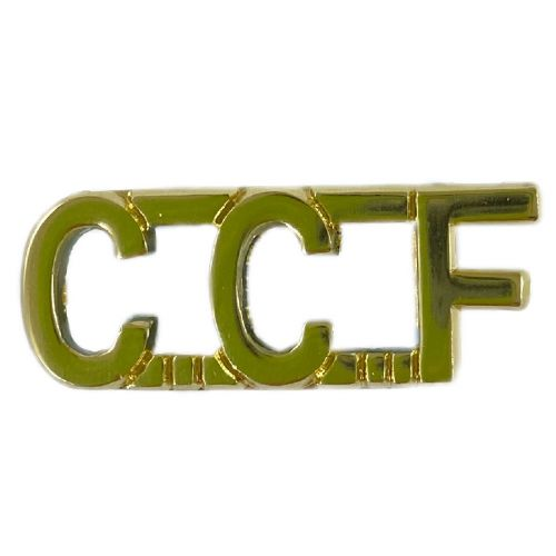 CCF Gold Anodised Titles