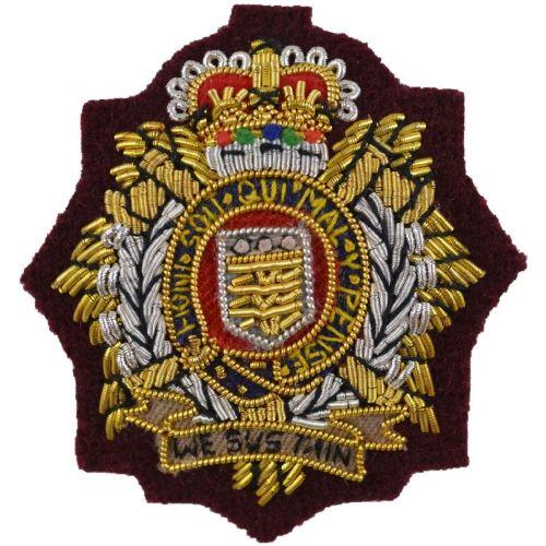 Royal Logistic Corps Beret Badge, Officers, PARA