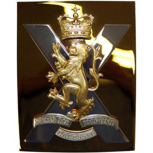 Royal Regiment Of Scotland Officer Cross Belt Plate