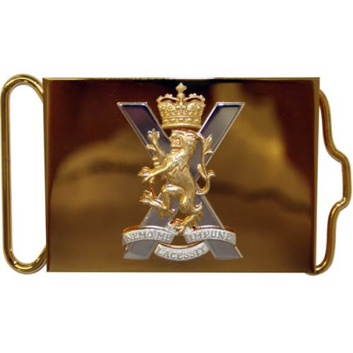 Royal Regiment Of Scotland Waist Belt Plate