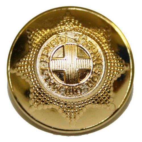 Coldstream Guards Button, Gilt, with Rim (40L)
