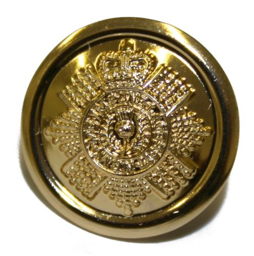 Scots Guards Button, Anodised (22L)