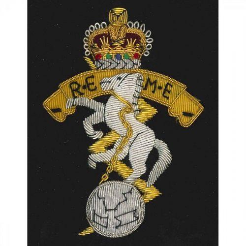 REME Wire Blazer Badge E11R