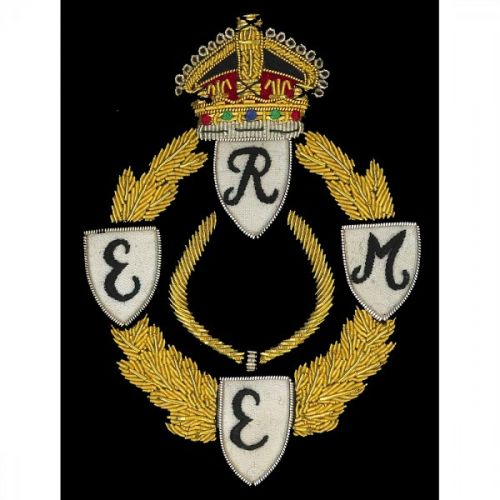 REME WW2 Wire Blazer Badge GV1R