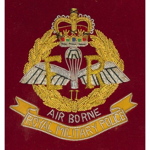 RMP Airborne Wire Blazer Badge