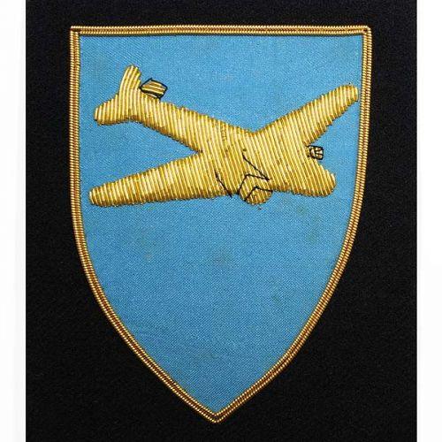 Royal Logistic Corps Blazer Badge, Air Despatcher, Wire