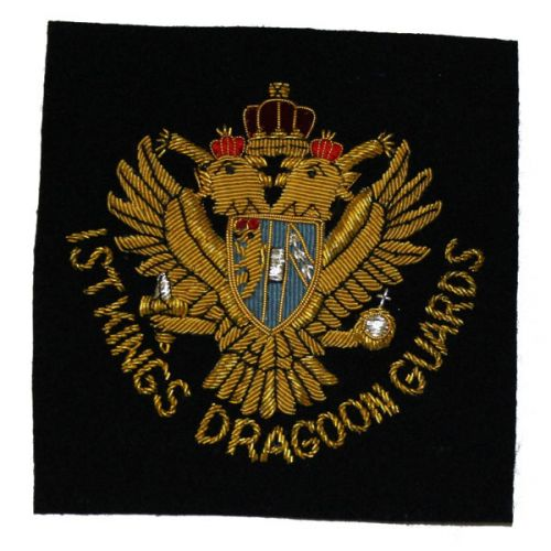 1st King's Dragoon Guards Blazer Badge