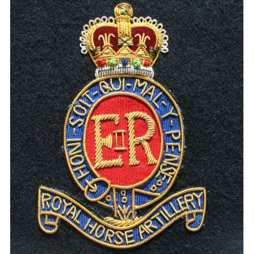 RHA Wire Blazer Badge E11R