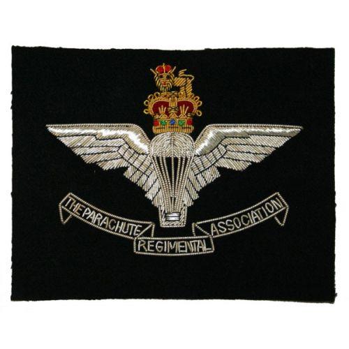 Parachute Regiment Association Wire Blazer Badge