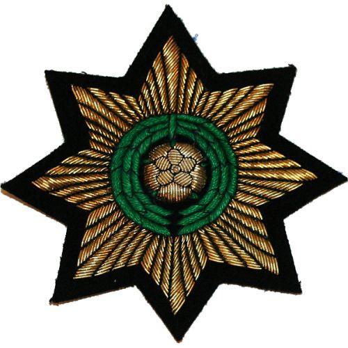 PWO Yorks Star Wire Blazer Badge