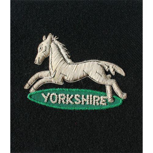 PWO Yorks Horse Wire Blazer Badge