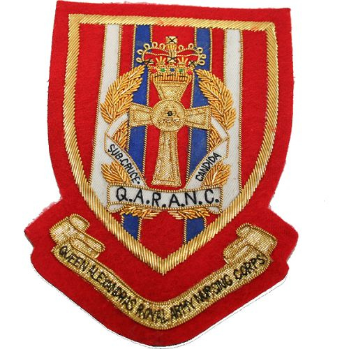 QARANC Blazer Badge, Wire