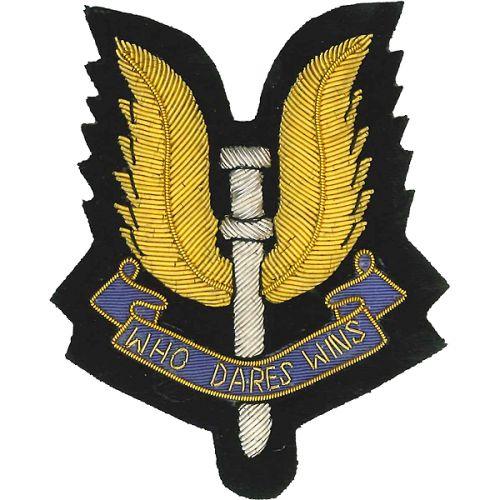 SAS Wire Blazer Badge