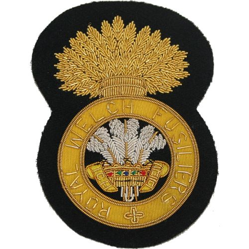 Royal Welch Fusiliers Blazer Badge