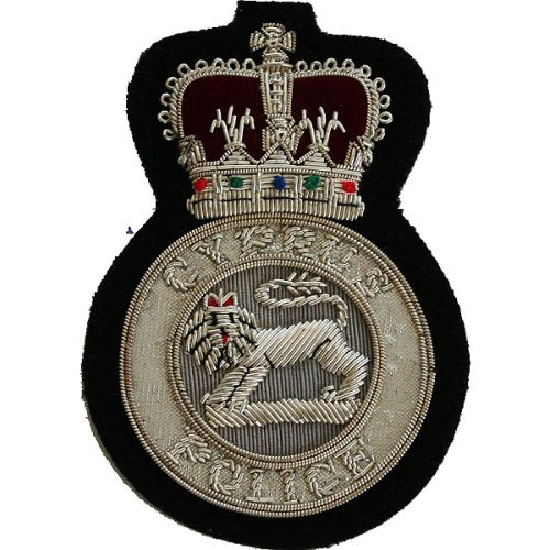 Cyprus Police Blazer Badge, Wire
