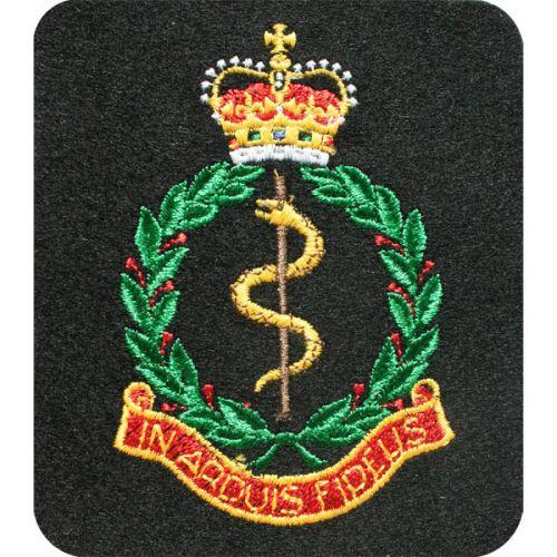 RAMC Silk Blazer Badge