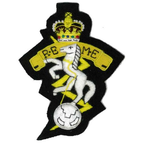 REME Silk Blazer Badge