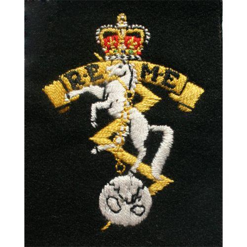 REME Silk Blazer Badge (Economy)