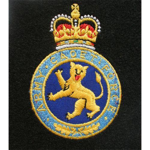Army Cadet Force Silk Blazer Badge