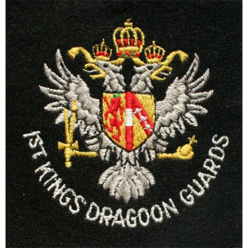 1 Kdg Silk Blazer Badge