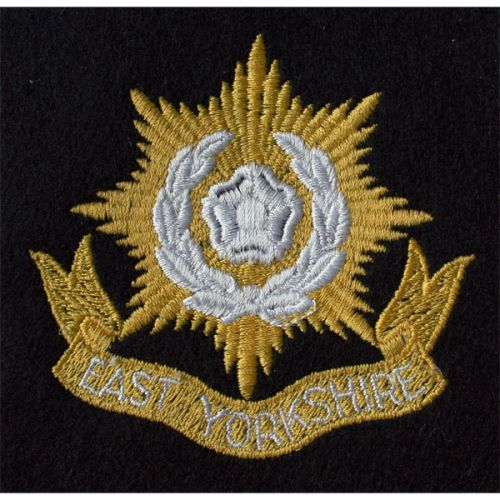 East Yorks Blazer Badge, Silk