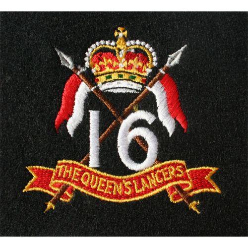 16th/15th Lancers Blazer Badge, Silk