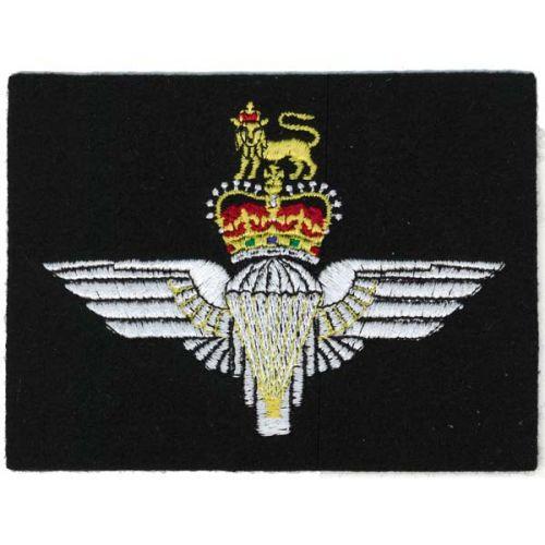 Parachute Regiment Navy Silk Blazer Badge