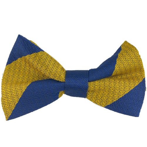 PWRR Polyester Striped Bow Tie (Ready Tied)