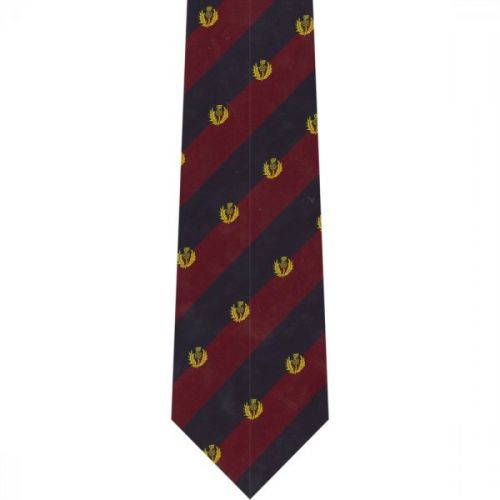 Scots Guards Crested Tie