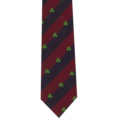 Irish Guards Crested Tie