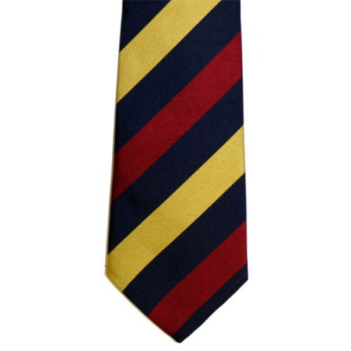 RAMC (Equal Stripes) Silk Tie